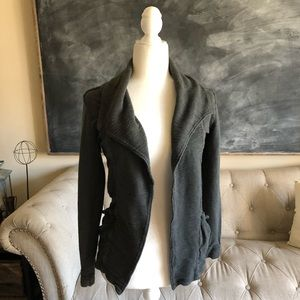 LUCY | Gray Carefree Cardigan Sweater Textured